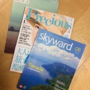 JAL機内誌、他印刷物のご紹介