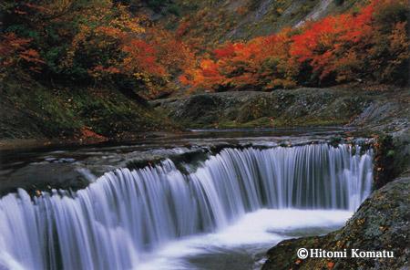 今月の一枚・2006年9月「秋の小又峡」(秋田県北秋田市)