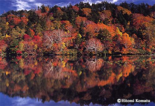 今月の一枚・2008年10月「秋の長沼」(秋田・八幡平)