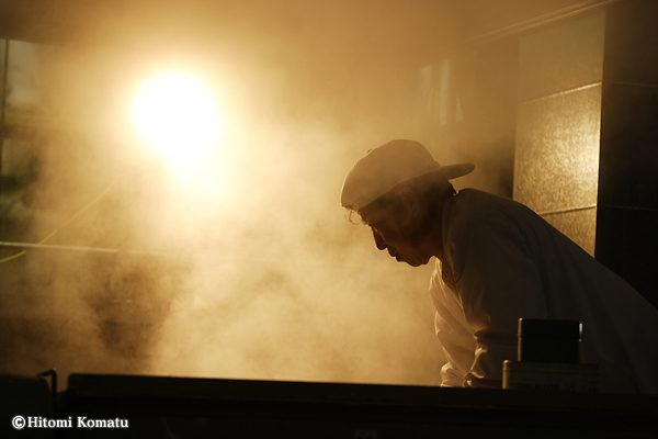 今月の一枚・2011年11月-12月/ 酒を作る。1 「蒸し」