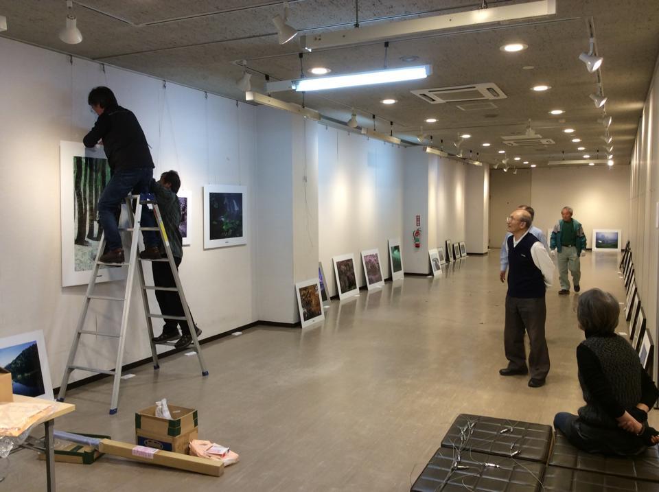 「写楽の会」の15周年記念写真展